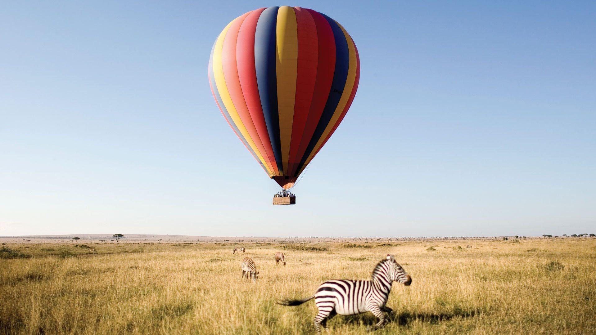 Hot Air Balloon Safari - Ashford Tours & Travel Ltd